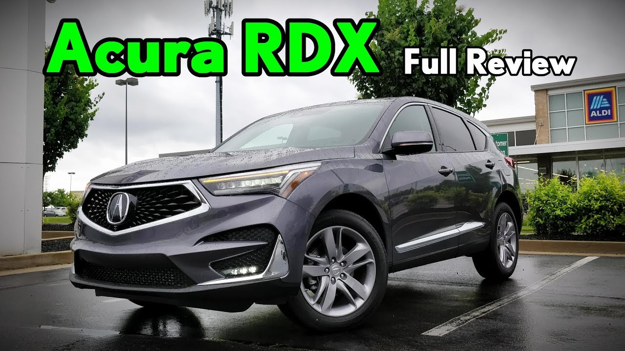 2019 Acura Rdx Full Review Advance A Spec Technology Base