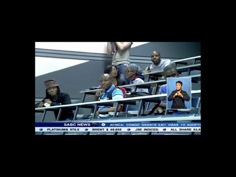 Wits University 3rd year Electrical Engineers 2015 on news