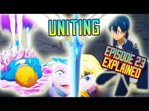 Sword Art Online Alicization EXPLAINED - Episode 23, Administrator! | Gamerturk Reviews