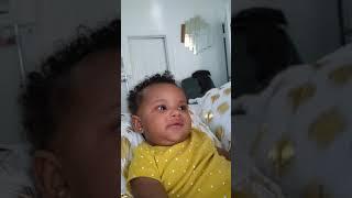 Making baby laugh