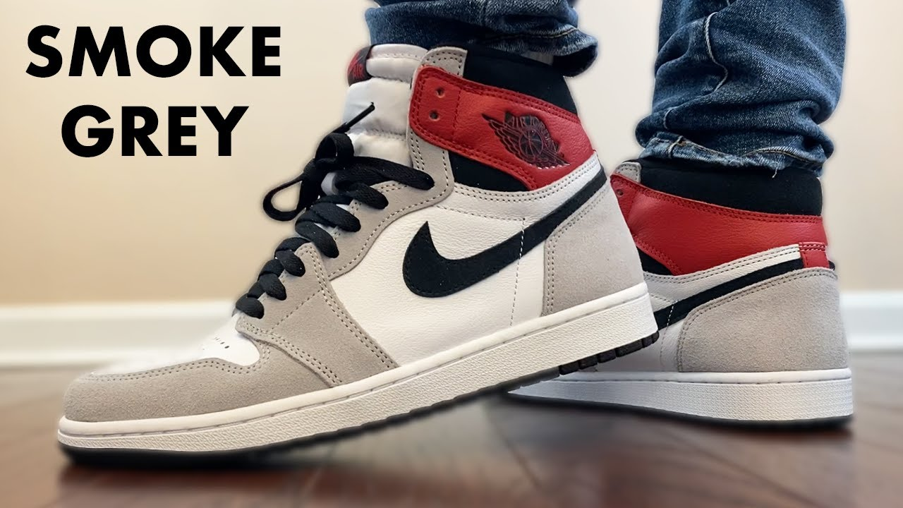 The JORDAN 1 SMOKE GREY is a 10/10 ON FEET!