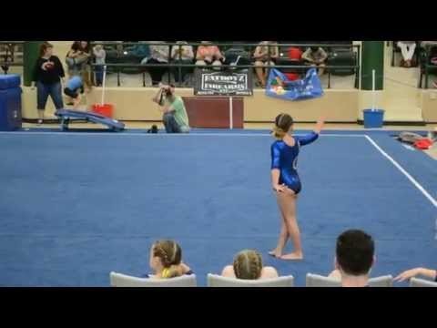Atia's 1st Place Level 3 Floor Routine at the 2015 IL State Championship Meet (GIJO)