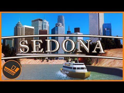 Sedona - Part 70 | THE CANAL (Cities: Skylines)