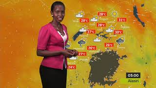 Kiswahili Weather forecast for 15/11/2018