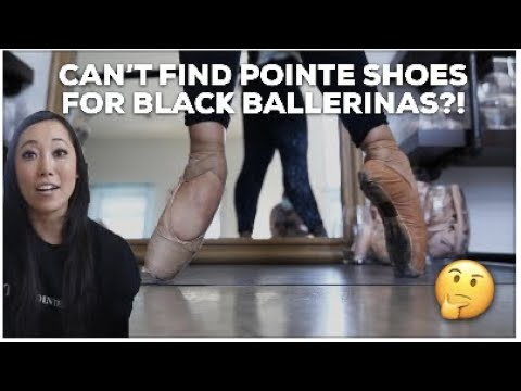 Pointe Shoes for Black Ballerinas