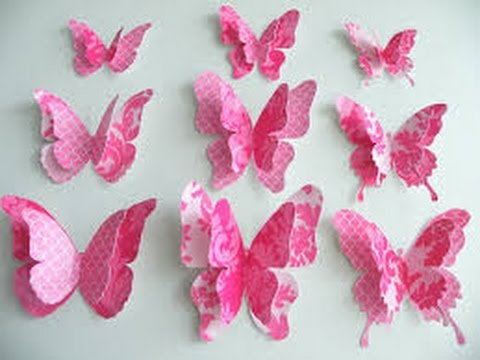 How To Make Paper Butterfly