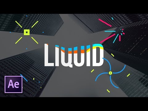 Create The Liquid Effect For Motion Graphics   After Effects Tutorial