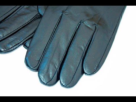 Женские кожаные перчатки. Модель W012