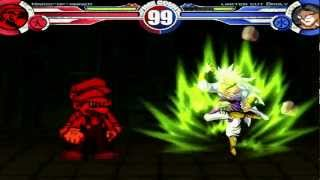 Mario-Of-Anger (12P) vs Limiter Cut Broly (12P) + Extra MUGEN Battle!!!