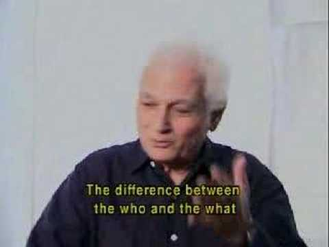 Jacques Derrida On Love and Being