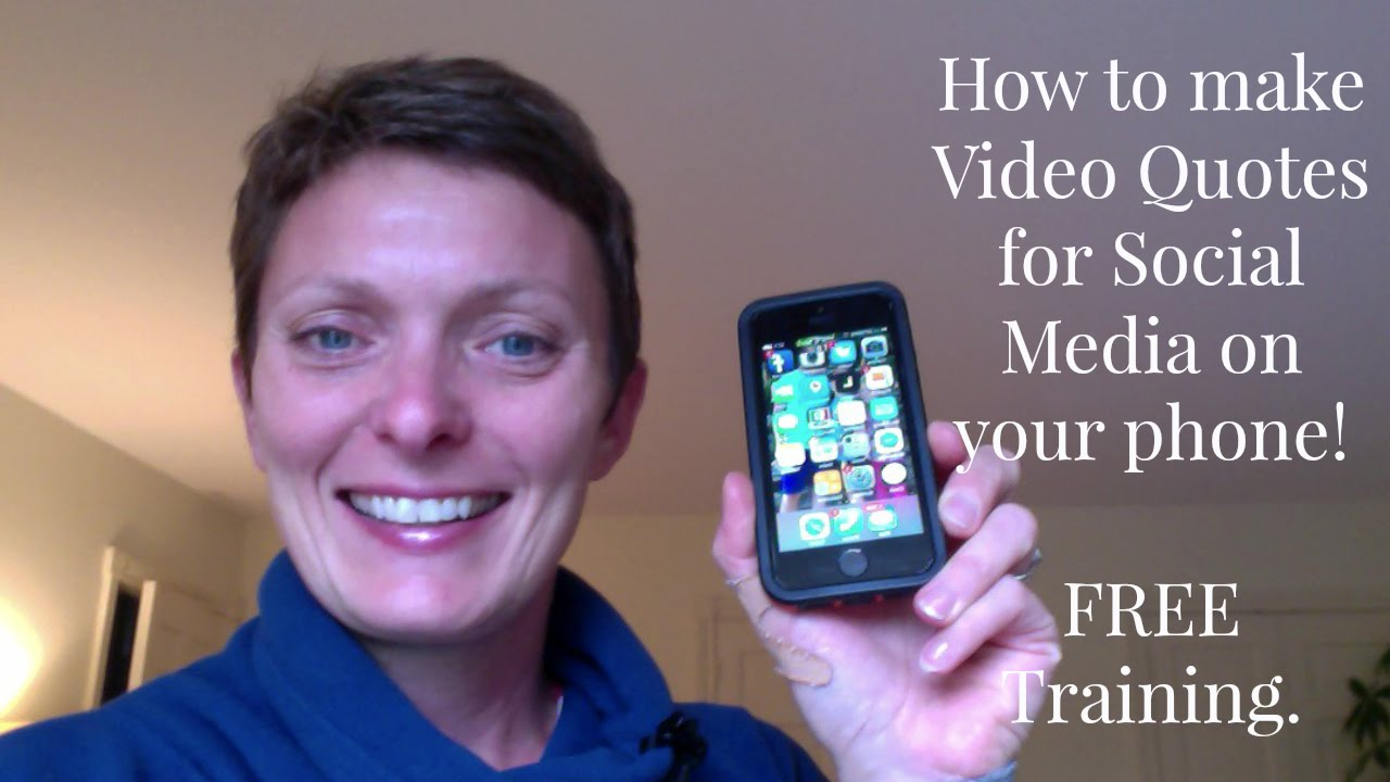How To Make Video Quotes For Your Social Media Youtube