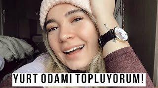 ODTÜ YURT ODAMI TOPLUYORUM! | ODTÜ VLOG #3