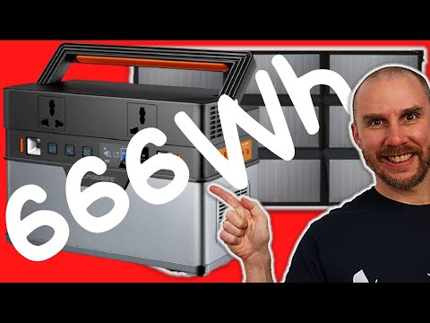 ALLPOWERS 666Wh Portable Solar Generator Unboxing & First Look | Even More Pickup And Go Power