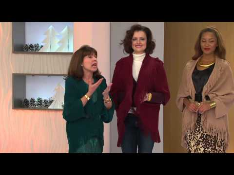 Layers by Lizden Marvelush Shrug with Cable Detail with Rick Domeier