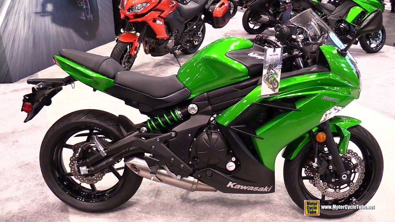 2015 kawasaki ninja 650 abs - walkaround - 2014 new york