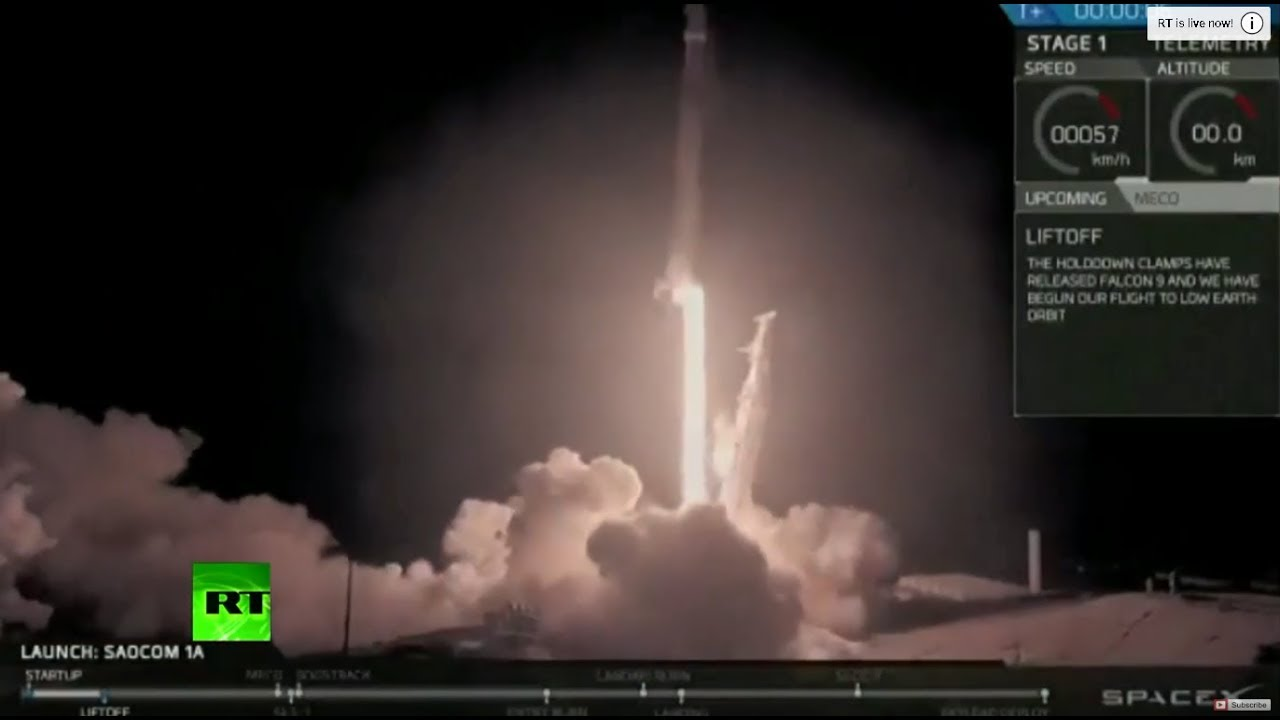 SpaceX Falcon 9 launches satellite, brings rocket back in historic landing