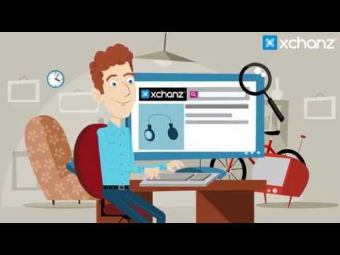 How XCHANZ works - India's best online barter platform to exchange services, used stuff & Ideas