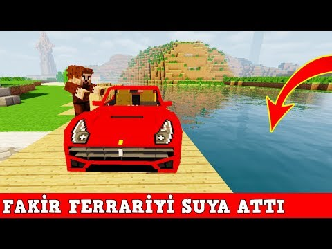 ZENGİN VS FAKİR #129 - Fakir Ferrariyi Suya Attı (Minecraft) thumbnail