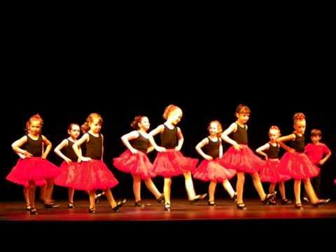 Izabella (Belle) HEY MICKEY recital performance for TAP KIDS