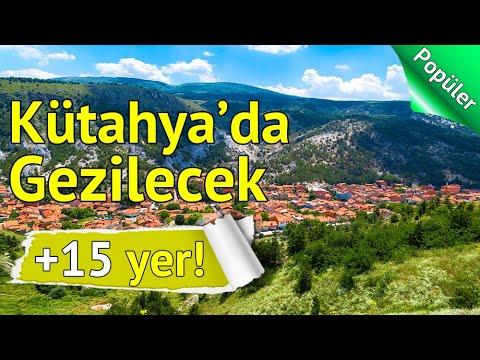 Kütahya'da Mutlaka Görmeniz Gereken 15 Yer   gezilesiyer.com