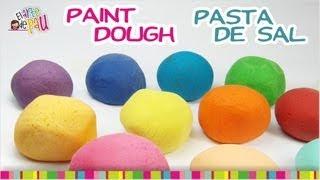 Painting Salt Dough / Pintando la masa de sal Thumbnail