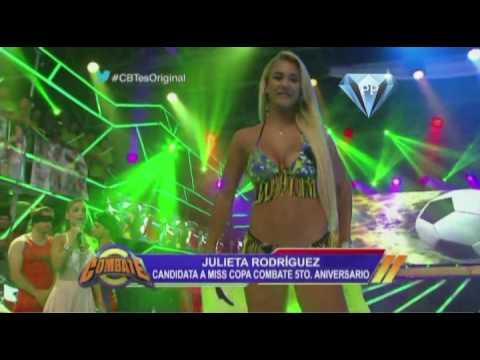 Julieta Rodriguez Miss Copa Combate