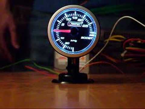 prosport boost gauge demonstration youtube rh youtube com