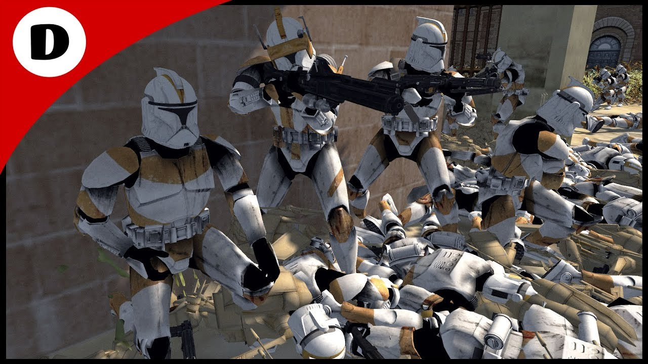 COMMANDER CODY'S CITY ASSAULT - Men Of War: Star Wars Mod ...