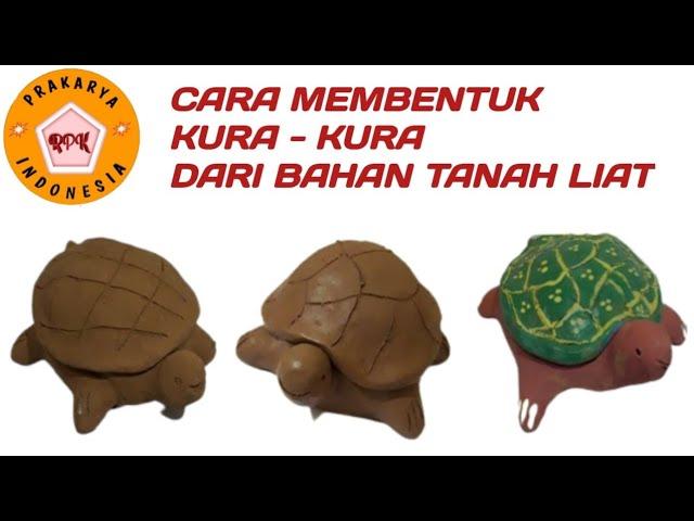 Cara Membuat Kura Kura Dari Tanah Liat Turtle Ceramic By Clay Youtube