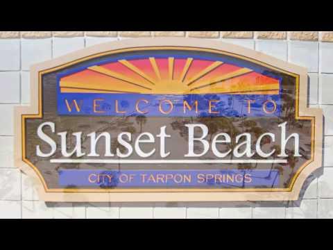Sunset Beach Tarpon Spring Florida