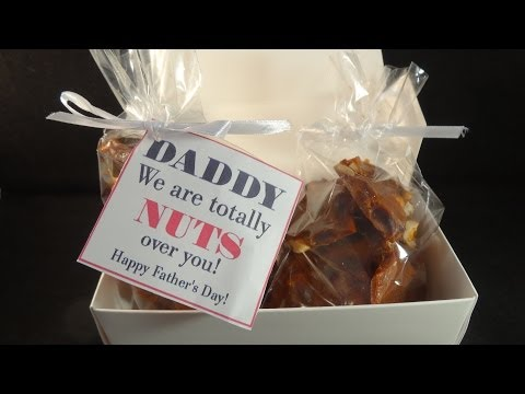 Bacon Peanut Brittle For Dad - with yoyomax12