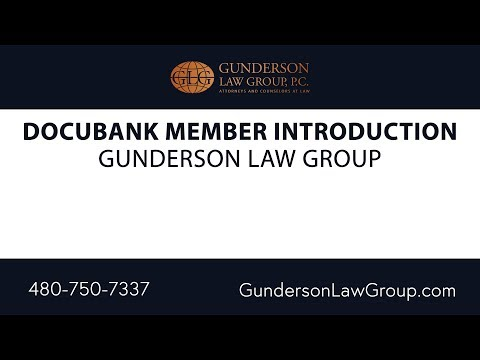 DocuBank Member Introduction | Gunderson Law Group