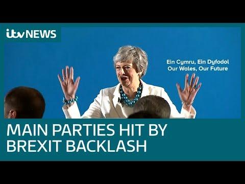 Voters punish main parties for Brexit impasse | ITV News