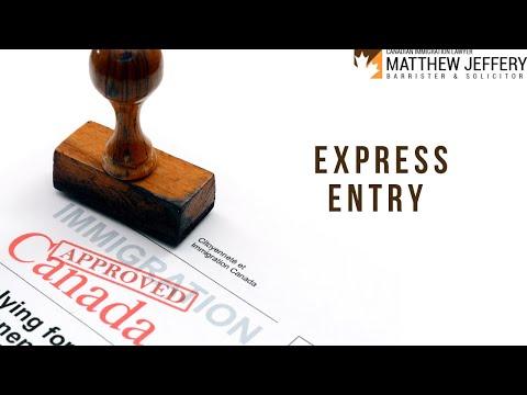 Express Entry | Matthew Jeffery - Immigration Lawyer Toronto