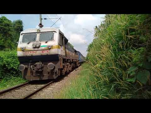 GOC WDP-4D hauled 22654 NZM - KCVL exiting ETM.