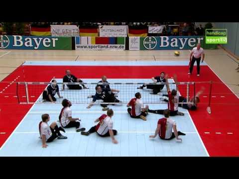 Sitzvolleyballer buchen das Ticket für Rio 2016