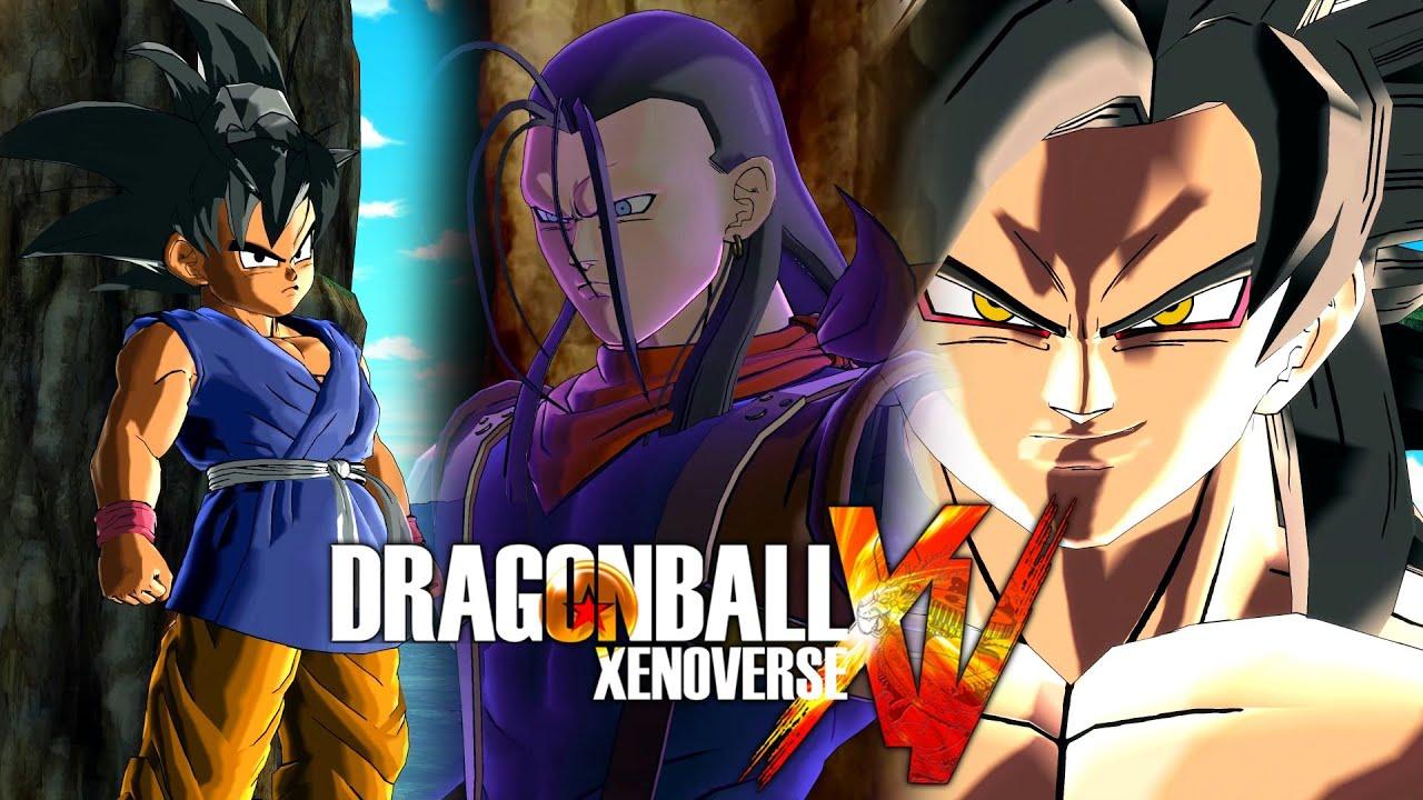 7 Viên Ngọc Rồng GT - Goku Super Saiyan 4 vs Super # 17