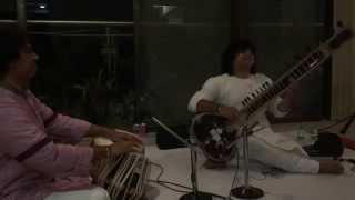 Niladri Kumar (Sitar) with Satyajit Talwalkar (Tabla)