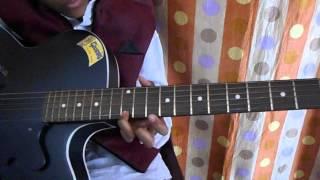 """WATCH Ek Pardesi Mera Dil Le Gaya guitar tabs by my student """"AKSHAT JAIN"""""""