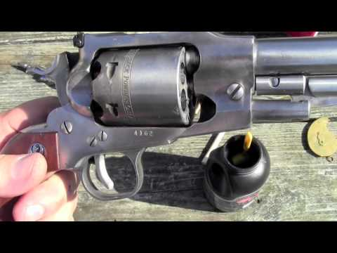 Ruger Old Army Powder   Projectile Test Part 2