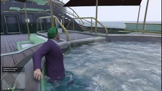 Relax In A Hot Tub Daily Objective In GTA Online