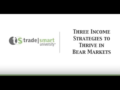3 Bear market strategies