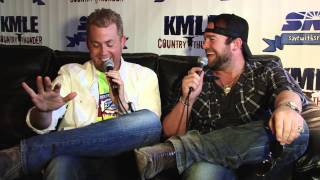 Lee Brice interview at KMLE Country Thunder 2013