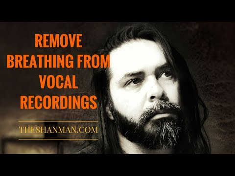 Remove Breathing From Vocal Recordings (Adobe Audition)
