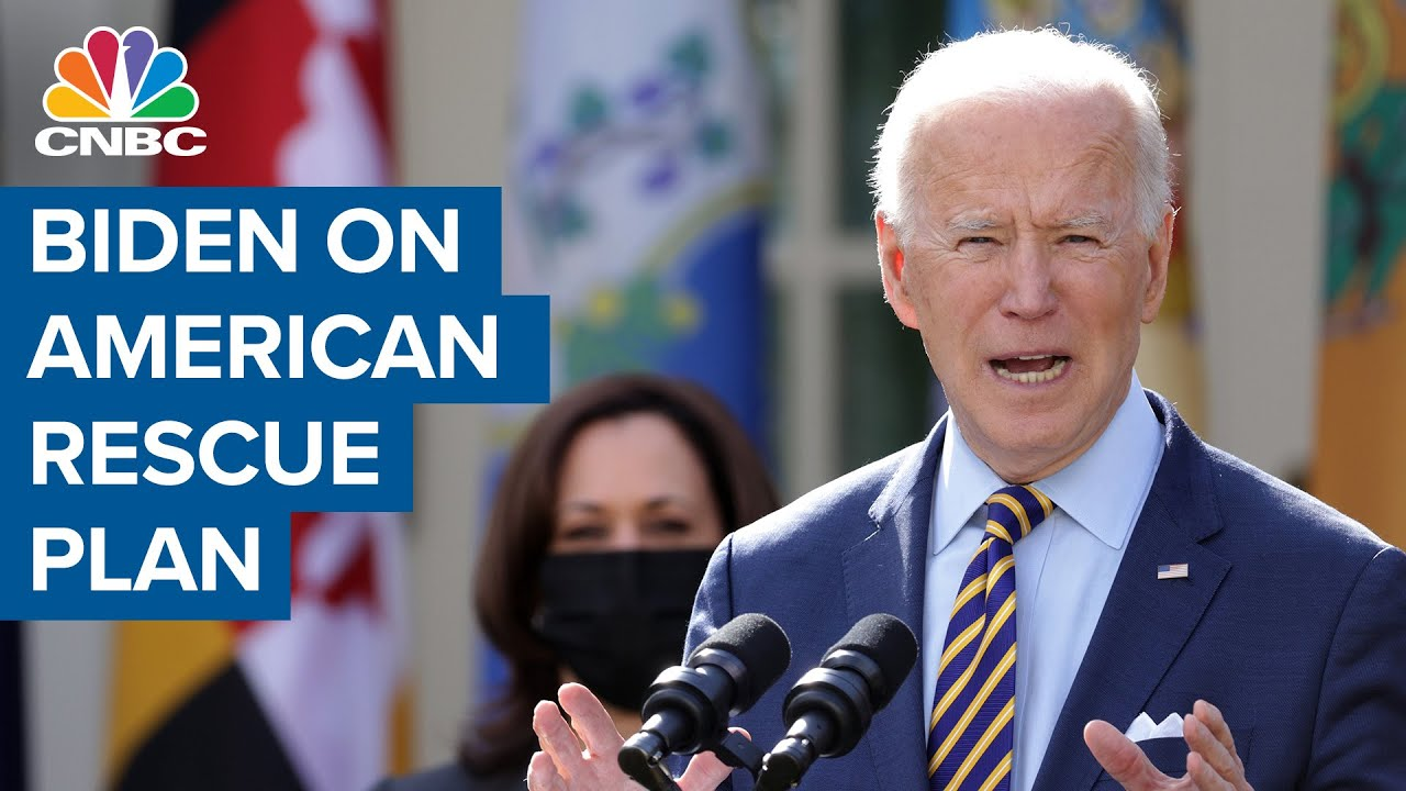 President Joe Biden on the American Rescue Plan and recovery