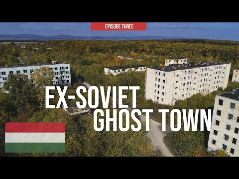 Ex-Soviet GHOST TOWN & Crossing Three Countries 🇮🇹 🇸🇮 🇭🇺