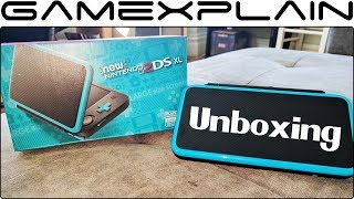 We unbox the New Nintendo 2DS XL and compare its size to the origin...