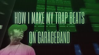 TRAP BEAT TUTORIAL ON GARAGEBAND IOS | FiniosBeatz