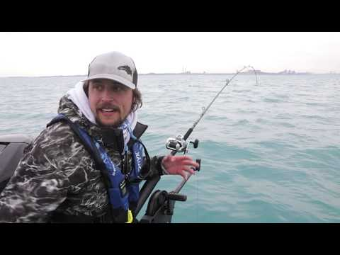 Springtime Trolling For Salmon And Lake Trout On Lake Michigan