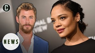 Tessa Thompson Boards Men in Black Spinoff with Chris Hemsworth